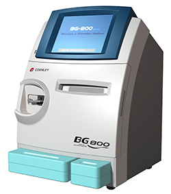 BG 800, bg800, bg800 blood gas analyzer, cornley, BG-800